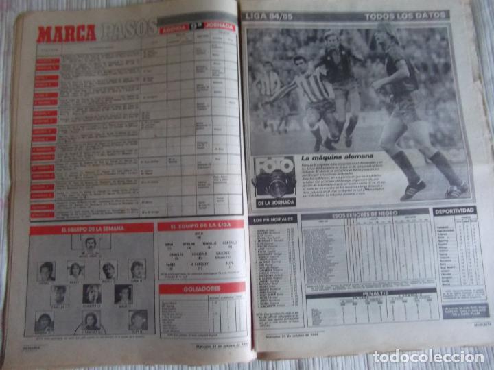 Coleccionismo deportivo: MARCA-1984-Nº13315-32 PAGINAS-VALDANO-SCHUSTER-QUINI-SITO PONS-JOSE HIGUERAS - Foto 3 - 23618219