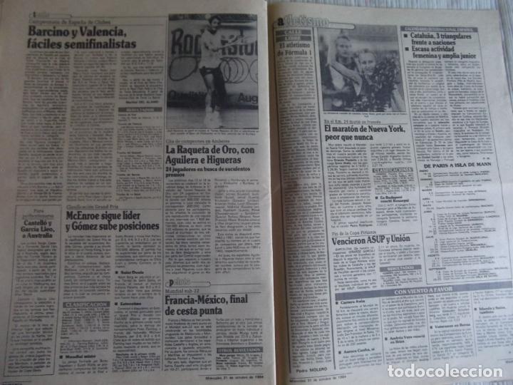 Coleccionismo deportivo: MARCA-1984-Nº13315-32 PAGINAS-VALDANO-SCHUSTER-QUINI-SITO PONS-JOSE HIGUERAS - Foto 5 - 23618219