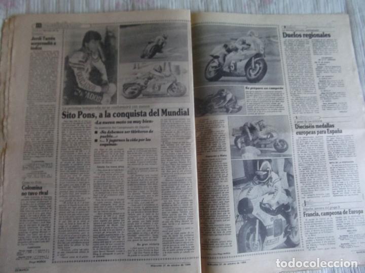 Coleccionismo deportivo: MARCA-1984-Nº13315-32 PAGINAS-VALDANO-SCHUSTER-QUINI-SITO PONS-JOSE HIGUERAS - Foto 6 - 23618219