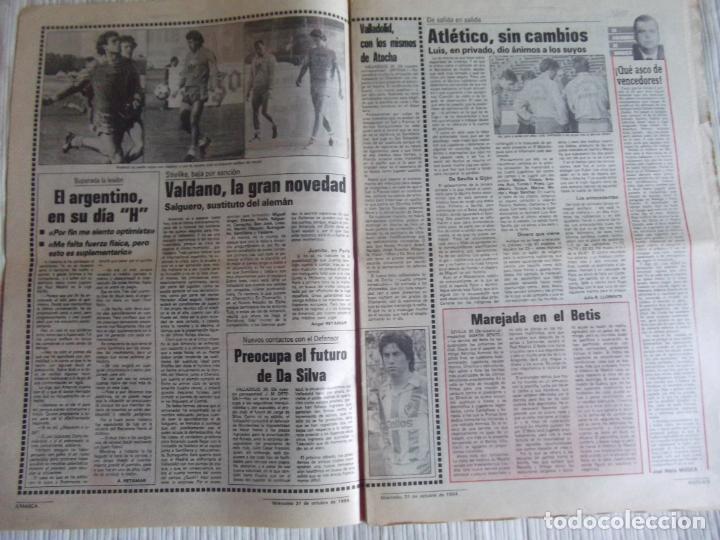 Coleccionismo deportivo: MARCA-1984-Nº13315-32 PAGINAS-VALDANO-SCHUSTER-QUINI-SITO PONS-JOSE HIGUERAS - Foto 8 - 23618219