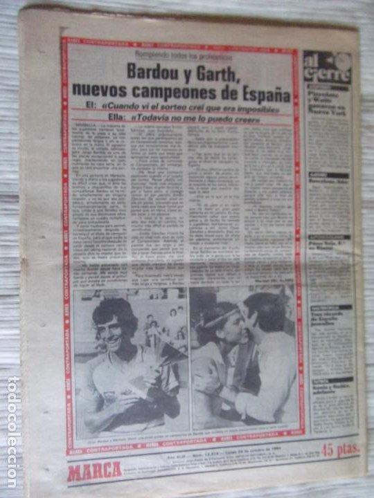 Coleccionismo deportivo: MARCA-1984-Nº13314-40 PAGINAS-JORNADA DE LIGA-LUIS-VENABLES-ORMAECHEA-BENITEZ-CLEMENTE-AZCARGORTA - Foto 2 - 23618318