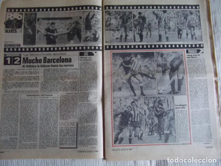 Coleccionismo deportivo: MARCA-1984-Nº13314-40 PAGINAS-JORNADA DE LIGA-LUIS-VENABLES-ORMAECHEA-BENITEZ-CLEMENTE-AZCARGORTA - Foto 4 - 23618318