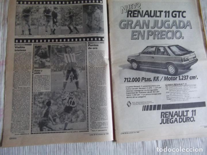Coleccionismo deportivo: MARCA-1984-Nº13314-40 PAGINAS-JORNADA DE LIGA-LUIS-VENABLES-ORMAECHEA-BENITEZ-CLEMENTE-AZCARGORTA - Foto 5 - 23618318