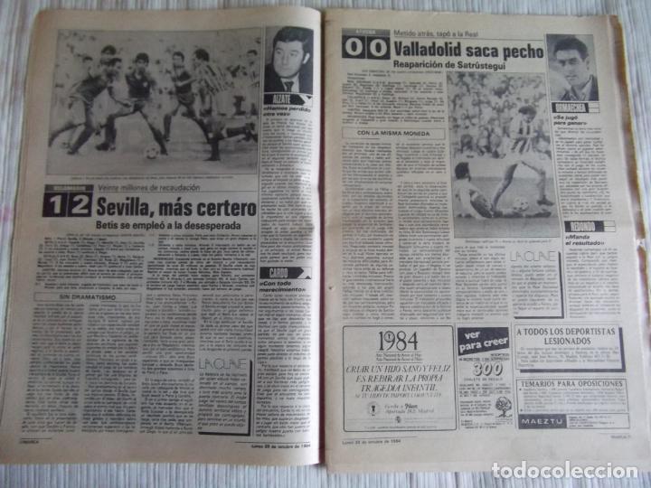 Coleccionismo deportivo: MARCA-1984-Nº13314-40 PAGINAS-JORNADA DE LIGA-LUIS-VENABLES-ORMAECHEA-BENITEZ-CLEMENTE-AZCARGORTA - Foto 6 - 23618318
