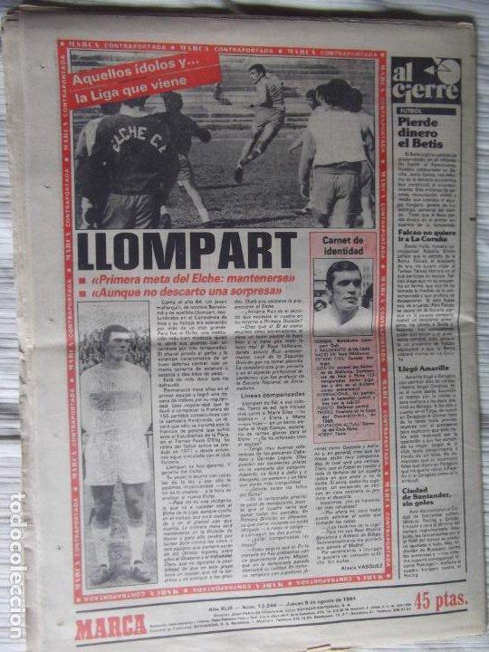 Coleccionismo deportivo: MARCA-1984-Nº13244-ORO EN VELA-VALDANO TOMO MADRID- - Foto 2 - 21127184