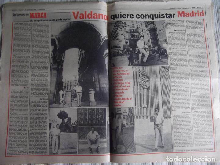Coleccionismo deportivo: MARCA-1984-Nº13244-ORO EN VELA-VALDANO TOMO MADRID- - Foto 3 - 21127184