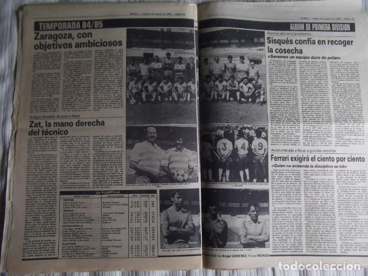 Coleccionismo deportivo: MARCA-1984-Nº13244-ORO EN VELA-VALDANO TOMO MADRID- - Foto 4 - 21127184