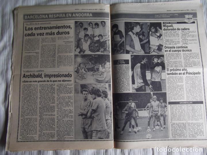 Coleccionismo deportivo: MARCA-1984-Nº13244-ORO EN VELA-VALDANO TOMO MADRID- - Foto 5 - 21127184