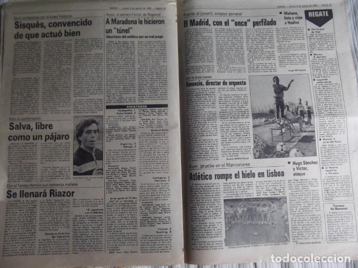 Coleccionismo deportivo: MARCA-1984-Nº13244-ORO EN VELA-VALDANO TOMO MADRID- - Foto 6 - 21127184