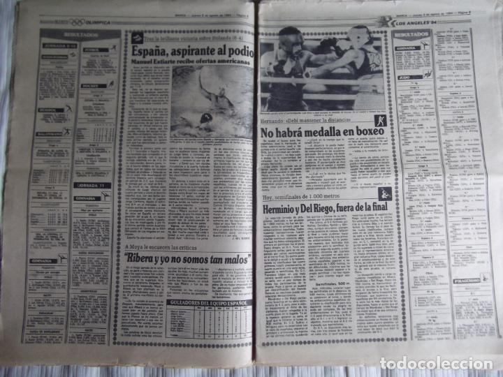 Coleccionismo deportivo: MARCA-1984-Nº13244-ORO EN VELA-VALDANO TOMO MADRID- - Foto 7 - 21127184