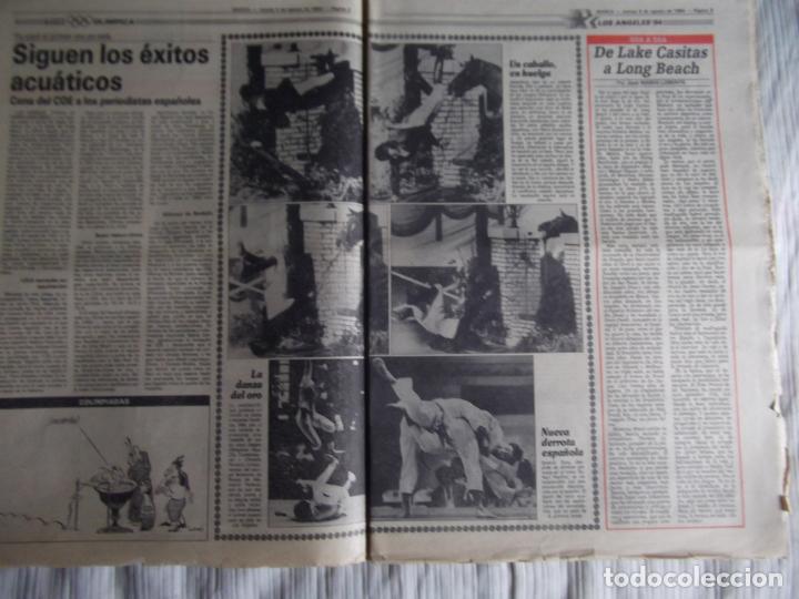 Coleccionismo deportivo: MARCA-1984-Nº13244-ORO EN VELA-VALDANO TOMO MADRID- - Foto 8 - 21127184