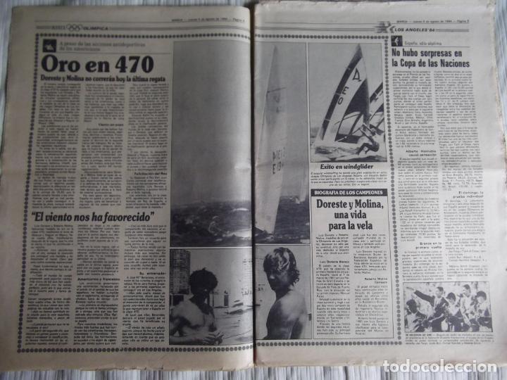 Coleccionismo deportivo: MARCA-1984-Nº13244-ORO EN VELA-VALDANO TOMO MADRID- - Foto 9 - 21127184