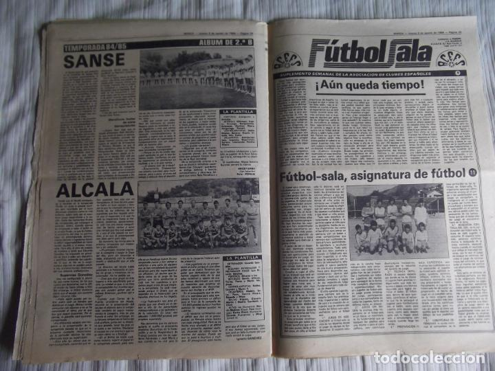 Coleccionismo deportivo: MARCA-1984-Nº13244-ORO EN VELA-VALDANO TOMO MADRID- - Foto 11 - 21127184