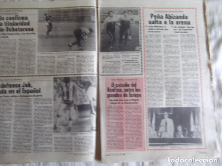 Coleccionismo deportivo: MARCA-1985-Nº13419-YA HIERVE VALENCIA-CHECHU ROJO-AMORRORTU-CHURRUCA-MIGUEL ANGEL-OCHOTORENA-CALDERE - Foto 2 - 21141816