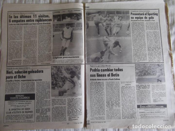 Coleccionismo deportivo: MARCA-1985-Nº13419-YA HIERVE VALENCIA-CHECHU ROJO-AMORRORTU-CHURRUCA-MIGUEL ANGEL-OCHOTORENA-CALDERE - Foto 3 - 21141816