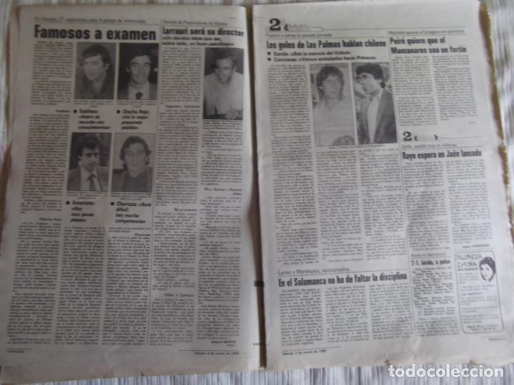 Coleccionismo deportivo: MARCA-1985-Nº13419-YA HIERVE VALENCIA-CHECHU ROJO-AMORRORTU-CHURRUCA-MIGUEL ANGEL-OCHOTORENA-CALDERE - Foto 6 - 21141816
