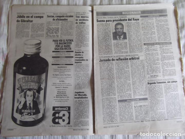 Coleccionismo deportivo: MARCA-1985-Nº13419-YA HIERVE VALENCIA-CHECHU ROJO-AMORRORTU-CHURRUCA-MIGUEL ANGEL-OCHOTORENA-CALDERE - Foto 7 - 21141816