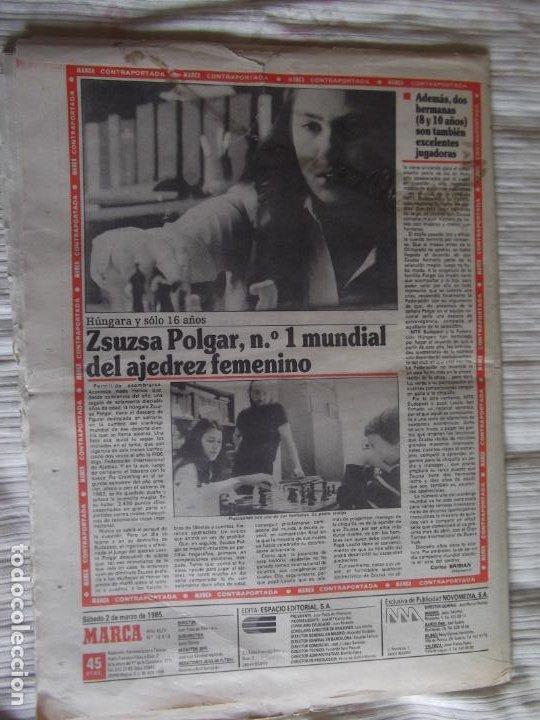 Coleccionismo deportivo: MARCA-1985-Nº13419-YA HIERVE VALENCIA-CHECHU ROJO-AMORRORTU-CHURRUCA-MIGUEL ANGEL-OCHOTORENA-CALDERE - Foto 9 - 21141816