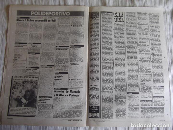 Coleccionismo deportivo: MARCA-1985-Nº13421-MESTALLA 2-5,FESTIVAL AZULGRANA- - Foto 6 - 21142088