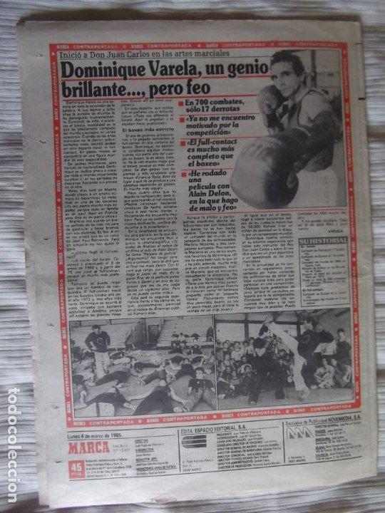 Coleccionismo deportivo: MARCA-1985-Nº13421-MESTALLA 2-5,FESTIVAL AZULGRANA- - Foto 7 - 21142088