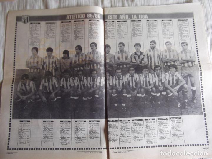 Coleccionismo deportivo: MARCA-1985-Nº13543-SANTILLANA-DA SILVA-AMARILLA-GORDILLO-BLANCA LACAMBRA - Foto 2 - 21142157