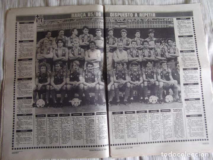 Coleccionismo deportivo: MARCA-1985-Nº13543-SANTILLANA-DA SILVA-AMARILLA-GORDILLO-BLANCA LACAMBRA - Foto 3 - 21142157