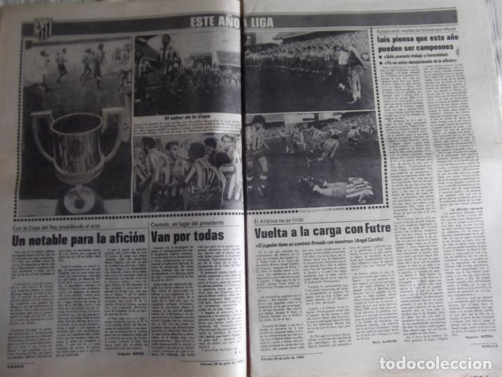 Coleccionismo deportivo: MARCA-1985-Nº13543-SANTILLANA-DA SILVA-AMARILLA-GORDILLO-BLANCA LACAMBRA - Foto 5 - 21142157