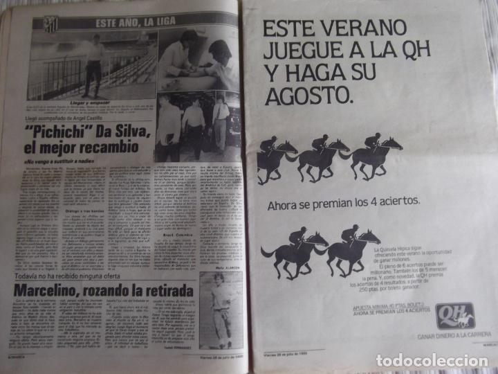 Coleccionismo deportivo: MARCA-1985-Nº13543-SANTILLANA-DA SILVA-AMARILLA-GORDILLO-BLANCA LACAMBRA - Foto 6 - 21142157