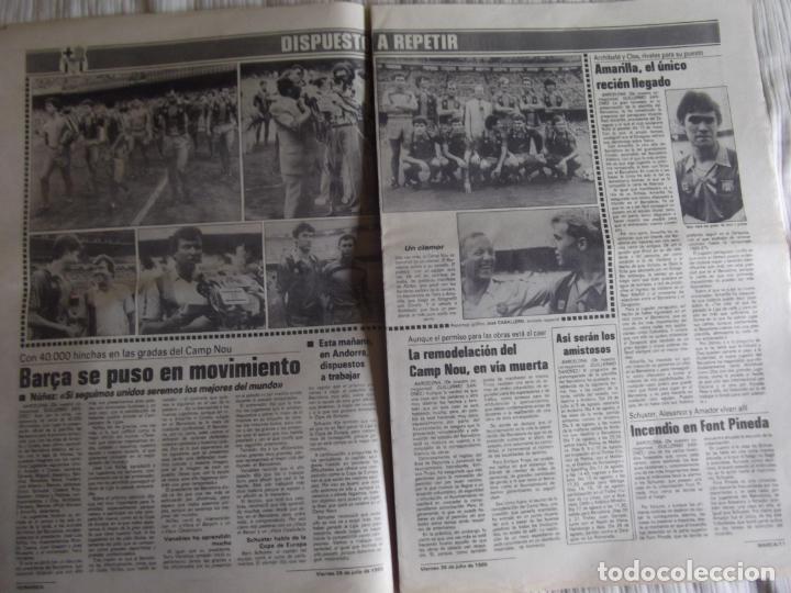 Coleccionismo deportivo: MARCA-1985-Nº13543-SANTILLANA-DA SILVA-AMARILLA-GORDILLO-BLANCA LACAMBRA - Foto 7 - 21142157