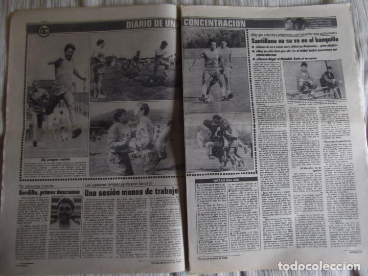 Coleccionismo deportivo: MARCA-1985-Nº13543-SANTILLANA-DA SILVA-AMARILLA-GORDILLO-BLANCA LACAMBRA - Foto 8 - 21142157