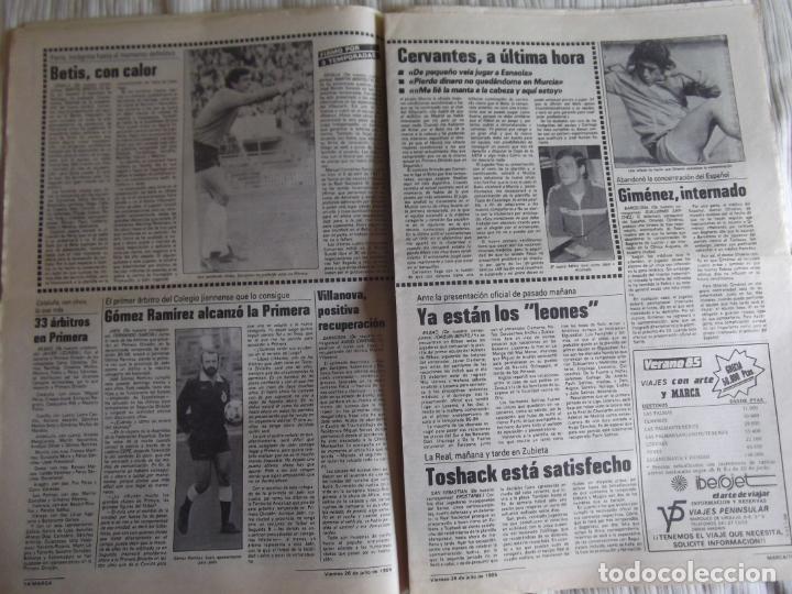 Coleccionismo deportivo: MARCA-1985-Nº13543-SANTILLANA-DA SILVA-AMARILLA-GORDILLO-BLANCA LACAMBRA - Foto 9 - 21142157