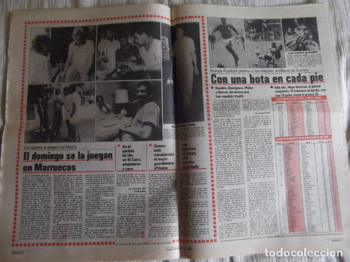 Coleccionismo deportivo: MARCA-1985-Nº13543-SANTILLANA-DA SILVA-AMARILLA-GORDILLO-BLANCA LACAMBRA - Foto 10 - 21142157