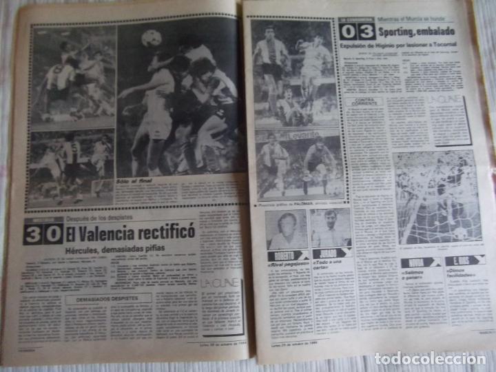 Coleccionismo deportivo: MARCA-1984-Nº13314-40 PAGINAS-JORNADA DE LIGA-LUIS-VENABLES-ORMAECHEA-BENITEZ-CLEMENTE-AZCARGORTA - Foto 10 - 23618318