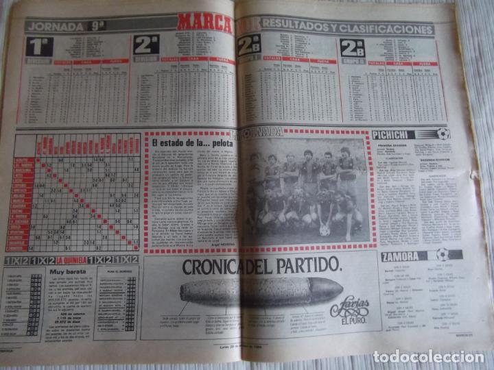 Coleccionismo deportivo: MARCA-1984-Nº13314-40 PAGINAS-JORNADA DE LIGA-LUIS-VENABLES-ORMAECHEA-BENITEZ-CLEMENTE-AZCARGORTA - Foto 11 - 23618318