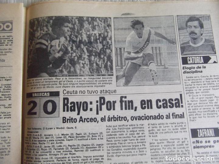 Coleccionismo deportivo: MARCA-1984-Nº13314-40 PAGINAS-JORNADA DE LIGA-LUIS-VENABLES-ORMAECHEA-BENITEZ-CLEMENTE-AZCARGORTA - Foto 12 - 23618318