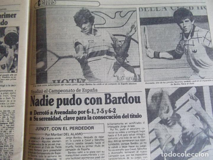 Coleccionismo deportivo: MARCA-1984-Nº13314-40 PAGINAS-JORNADA DE LIGA-LUIS-VENABLES-ORMAECHEA-BENITEZ-CLEMENTE-AZCARGORTA - Foto 13 - 23618318