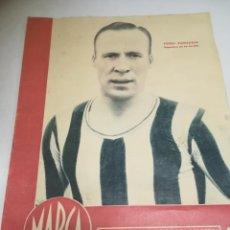 Coleccionismo deportivo: DIARIO MARCA. Nº114. 30-ENERO-1945. MADRID, CORUÑA, ATLETICO, CASTELLON. VER. Lote 210175725