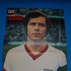 Coleccionismo deportivo: POSTER DE FUTBOL DE BECKENBAUER DEL BAYERN DE MUNICH DE AS COLOR****. Lote 210184455