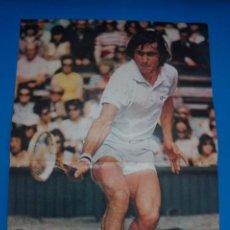 Coleccionismo deportivo: POSTER DE TENIS DE NASTASE DE AS COLOR****. Lote 210184863