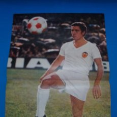 Coleccionismo deportivo: POSTER DE FUTBOL DE CLARAMUNT DEL VALENCIA C.F. DE AS COLOR****. Lote 210185193