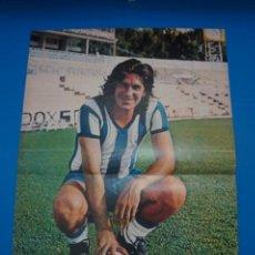 Coleccionismo deportivo: POSTER DE FUTBOL DE VIBERTI DEL MALAGA C.F. DE AS COLOR****. Lote 210192403