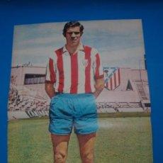 Coleccionismo deportivo: POSTER DE FUTBOL DE LUIS ARAGONES DEL ATLETICO DE MADRID DE AS COLOR****. Lote 210193657