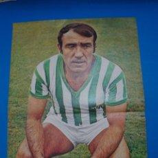 Coleccionismo deportivo: POSTER DE FUTBOL DE LUIS DEL SOL DEL REAL BETIS BALOMPIE DE AS COLOR****. Lote 210193893