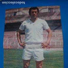 Coleccionismo deportivo: POSTER DE FUTBOL DE AMANCIO DEL REAL MADRID C.F. DE AS COLOR****. Lote 210195292