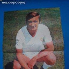 Coleccionismo deportivo: POSTER DE FUTBOL DE ZOCO DEL REAL MADRID C.F. DE AS COLOR****. Lote 210195736