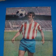 Coleccionismo deportivo: POSTER DE FUTBOL DE ADELARDO DEL ATLETICO DE MADRID DE AS COLOR****. Lote 210195828