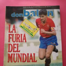 Collezionismo sportivo: REVISTA DON BALON Nº 766 SELECCION ESPAÑOLA MUNDIAL ITALIA 90 - ESPAÑA WORLD CUP 1990 - SCHUSTER. Lote 210223638