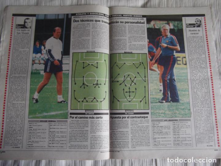 Coleccionismo deportivo: MARCA-1987-Nº14221-32 PAGINAS-BUTRAGUEÑO-REXACH-ZUBIZARRETA-SARABIA-MARTIN VAZQUEZ-MARINA-MARADONA - Foto 4 - 21149036