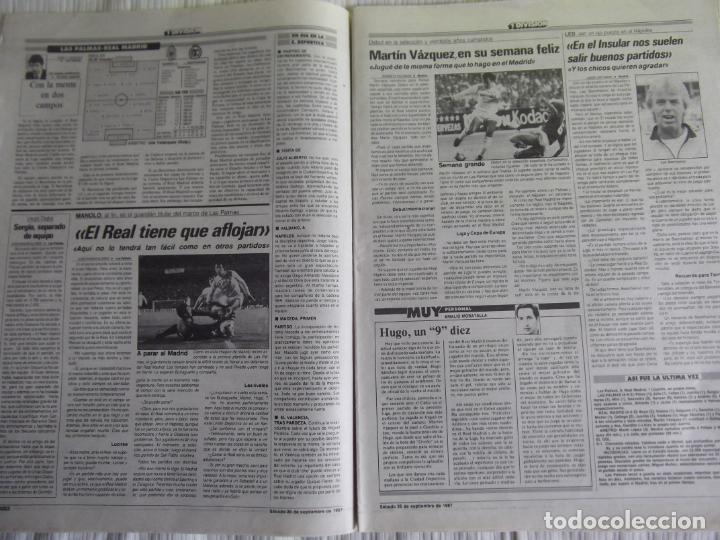 Coleccionismo deportivo: MARCA-1987-Nº14221-32 PAGINAS-BUTRAGUEÑO-REXACH-ZUBIZARRETA-SARABIA-MARTIN VAZQUEZ-MARINA-MARADONA - Foto 9 - 21149036