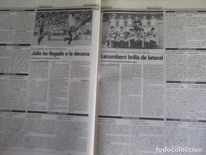 Coleccionismo deportivo: MARCA-1987-Nº14018-32 PAG-HUGO SANCHEZ-ZUBIZARRETA-MIGUELI-BUTRAGUEÑO-VICTOR-CHENDO-SOLA - Foto 3 - 21148985